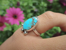 Load image into Gallery viewer, Royston Turquoise Ring - Size 4 1/2 - Sterling Silver - Gem & Tonik