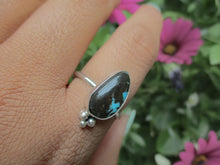 Load image into Gallery viewer, Kingman Turquoise Ring - Size 11 - Sterling Silver - Gem & Tonik