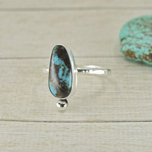 Load image into Gallery viewer, Kingman Turquoise Ring - Size 11 1/2 - Sterling Silver - Gem & Tonik