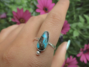 Kingman Turquoise Ring - Size 11 1/2 - Gem & Tonik