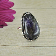 Load image into Gallery viewer, Large Amethyst Ring - Size 7 1/2 - Gem & Tonik