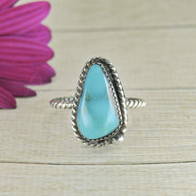 Load image into Gallery viewer, Nacozari Turquoise Ring - Size 9 1/2 - Sterling Silver - Gem & Tonik