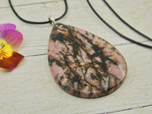 Load image into Gallery viewer, Rhodonite Pendant - Gem & Tonik