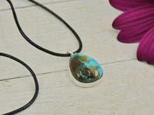 Load image into Gallery viewer, Royston Turquoise Pendant - Sterling Silver - Gem & Tonik