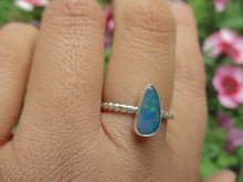 Load image into Gallery viewer, Australian Opal Ring - Size 8 1/4 - Coober Pedy - Gem & Tonik