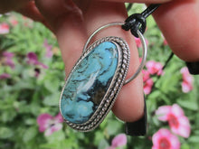 Load image into Gallery viewer, Kingman Turquoise Pendant - Sterling Silver - Gem & Tonik