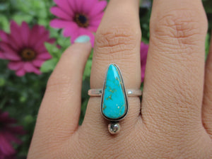 Compass Turquoise Ring - Size 6 1/2 - Gem & Tonik