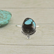 Load image into Gallery viewer, Kingman Turquoise Ring - Size 10 - Sterling Silver - Gem & Tonik