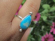 Load image into Gallery viewer, Morenci Turquoise Ring - Size 7 - Gem & Tonik