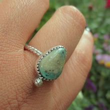 Load image into Gallery viewer, Cerrillos Turquoise Ring - Size 8 - Sterling Silver - Gem & Tonik