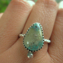 Load image into Gallery viewer, Cerrillos Turquoise Ring - Size 8 - Gem & Tonik
