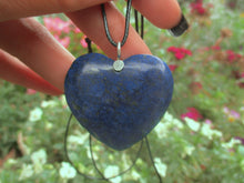 Load image into Gallery viewer, Lapis Lazuli Heart Pendant - Sterling Silver - Gem & Tonik