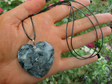 Load image into Gallery viewer, Larvikite Heart Pendant - Gem & Tonik
