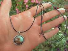 Load image into Gallery viewer, Green and Brown Royston Turquoise Pendant - Gem & Tonik
