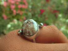 Load image into Gallery viewer, Wild Horse Magnesite Ring - Size 5 1/2 - Sterling Silver - Gem & Tonik