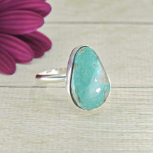 Load image into Gallery viewer, Nacozari Turquoise Ring - Size 8 1/4 - Sterling Silver - Gem & Tonik