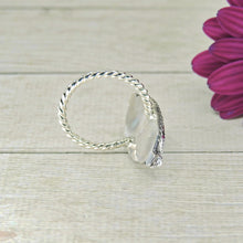 Load image into Gallery viewer, Moonstone Ring - Size 7 1/2 - Sterling Silver - Gem & Tonik