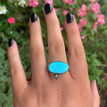 Load image into Gallery viewer, Dry Creek Turquoise Ring - Size 8 1/4 - Gem & Tonik
