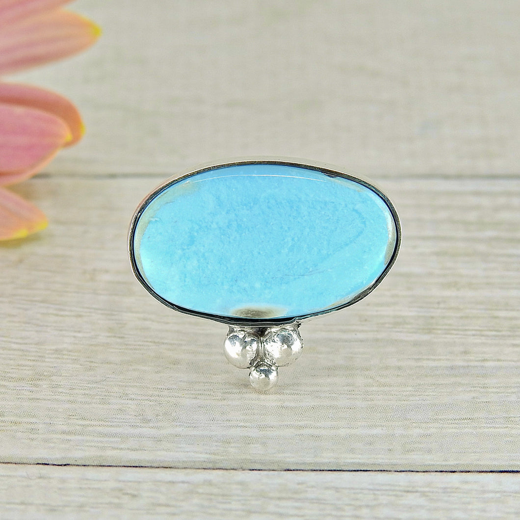 Dry Creek Turquoise Ring - Size 8 1/4 - Gem & Tonik