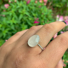 Load image into Gallery viewer, Faceted Rose Quartz Ring - Size 7 - Sterling Silver - Gem & Tonik