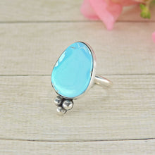 Load image into Gallery viewer, Bluebird Turquoise Ring - Size 8 - Gem & Tonik