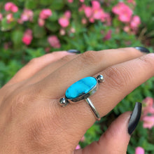 Load image into Gallery viewer, Turquoise Mountain Turquoise Ring - Size 8 3/4 - Sterling Silver - Gem & Tonik