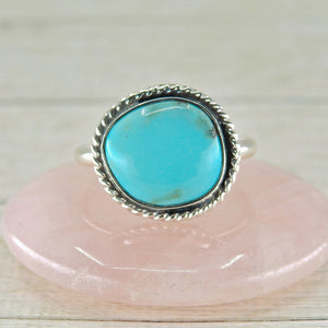 Fox Turquoise Ring - Size 12 1/2 - Gem & Tonik