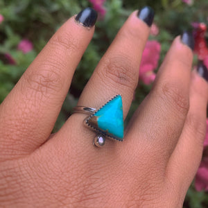 Compass Turquoise Ring - Size 6 - Gem & Tonik
