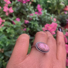 Load image into Gallery viewer, Rhodochrosite Ring - Size 7 - Sterling Silver - Gem & Tonik