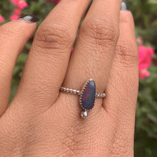 Load image into Gallery viewer, Coober Pedy Opal Ring - Size 9 1/4 - Sterling Silver - Gem & Tonik