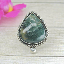 Load image into Gallery viewer, Moss Agate Ring - Size 12 - Gem & Tonik