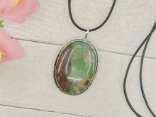 Load image into Gallery viewer, Australian Boulder Chrysoprase Pendant - Gem & Tonik