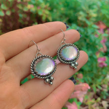 Load image into Gallery viewer, Angel Aura Quartz Earrings - Sterling Silver - Gem & Tonik