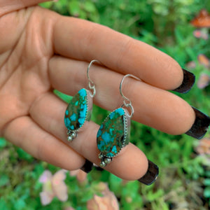 Royston Turquoise Earrings - Gem & Tonik