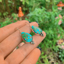 Load image into Gallery viewer, Royston Turquoise Earrings - Sterling Silver - Gem & Tonik
