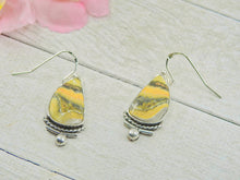 Load image into Gallery viewer, Bumblebee Jasper Earrings - Gem & Tonik