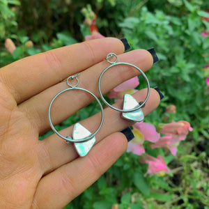 Number Eight Turquoise Earrings - Gem & Tonik