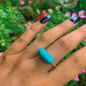 King's Manassa Turquoise Ring - Size 12 - Gem & Tonik