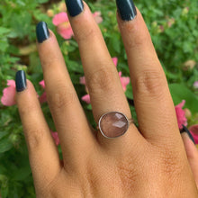 Load image into Gallery viewer, Strawberry Quartz Ring - Size 8 - Gem & Tonik