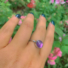 Load image into Gallery viewer, Amethyst Ring - Size 8 - Gem & Tonik