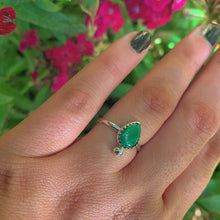 Load image into Gallery viewer, Malachite Ring - Size 7 1/2 - Gem & Tonik