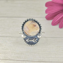 Load image into Gallery viewer, Wild Horse Magnesite Ring - Size 7 1/2 - Gem & Tonik