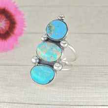 Load image into Gallery viewer, Royston & Kingman Turquoise Ring - Size 8 3/4 - Gem & Tonik