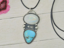 Load image into Gallery viewer, Sierra Nevada Turquoise & Moonstone Arrow Pendant - Gem & Tonik