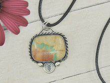 Load image into Gallery viewer, Royston Ribbon Turquoise Pendant - Gem & Tonik