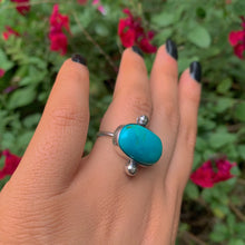 Load image into Gallery viewer, King's Manassa Turquoise Ring - Size 6 1/2 - Gem & Tonik