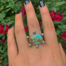 Load image into Gallery viewer, Number 8 Turquoise Ring - Size 8 1/4 - Gem & Tonik