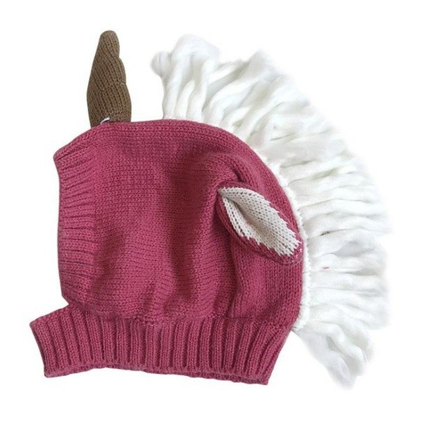 0b9acc367fe Baby Unicorn Hat - Winter Fashion Children s Wool Hat – LIMBA-TRENDS