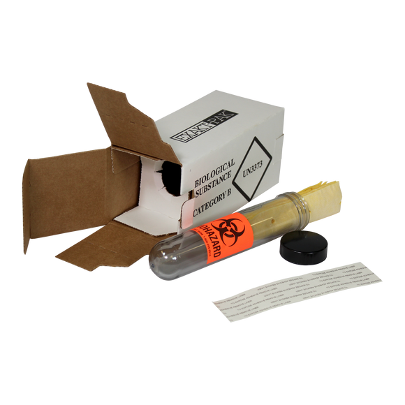 MD1377P01 - EXAKT-PAK™ Category B Ambient One-Pak™ Insulated Shipping Solution for Blood Tubes, Urine Tubes and Vials - for up to 22 x 125mm