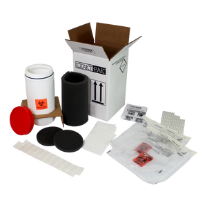 MD8010P15 - EXAKT-PAK® Category B Ambient Uni-Pak™ Insulated Shipping Solution for up to (15) Standard Petri Dishes